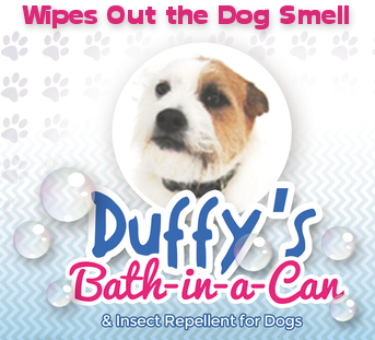 Duffy's Bath-in-a-Can for Dogs